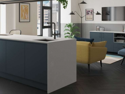 Kelso (Pacific Blue (Stained) - Kitchen Stori