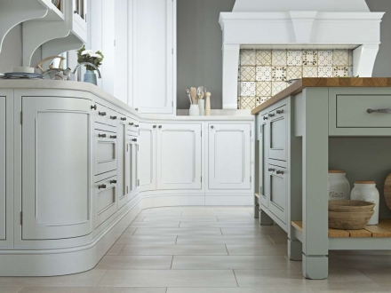 Hawkesbury (Brilliant White & Sage Green) - Aisling Artisan Furniture