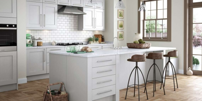 Wakefield (Light Grey) - Kitchen Stori
