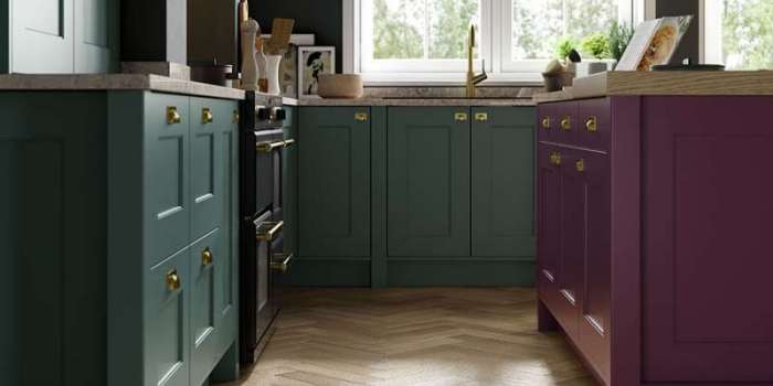 Florence (Deep Heather & Viridian)